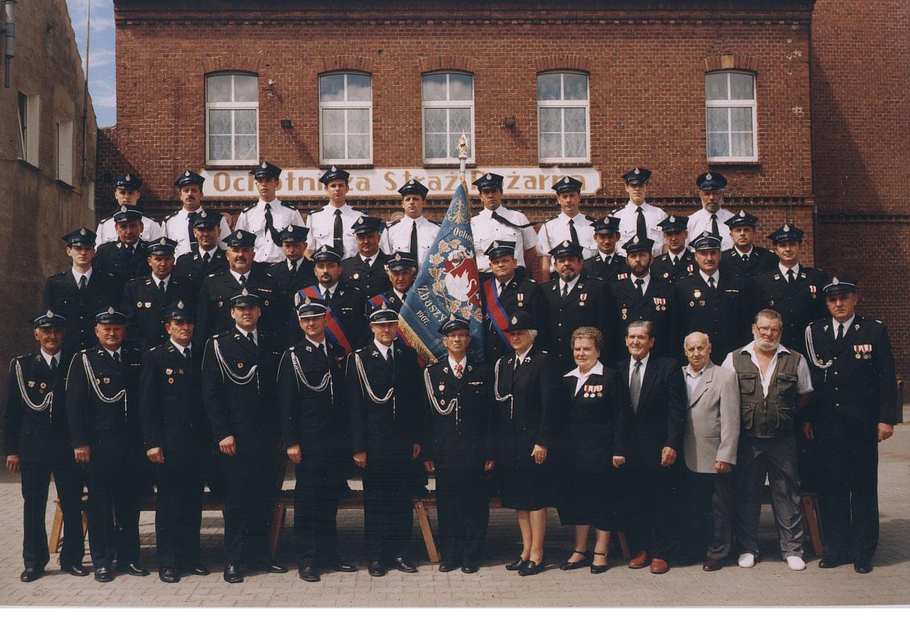 Zdjęcie zostało wykonane 20 czerwca 2004 na okoliczność 100-lecia działalności OSP